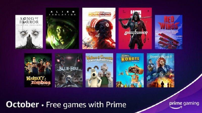 Amazon coştu! Ekim ayı, Prime Gaming ücretsiz oyunları açıklandı
