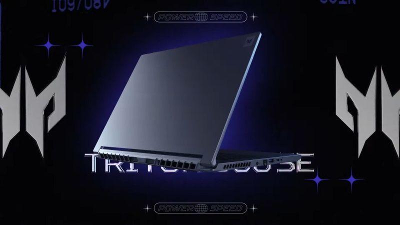 Acer Predator Triton 500 SE oyuncu dizüstü bilgisayarı duyuruldu