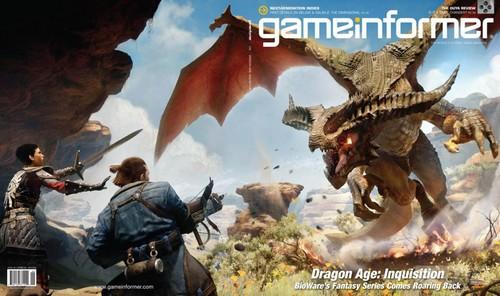 Dragon Age 3 Game Informer kapağında