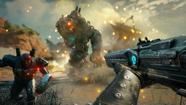 RAGE 2, Xbox One X'te ve PS4 PRO'da 1080p/60 FPS'de çalışacak