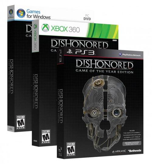 Dishonored: Game of the Year Edition yakında!