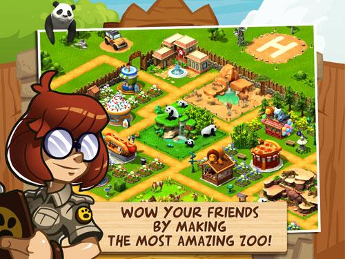 Gameloft'dan yeni oyun Wonder Zoo