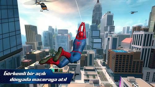 The Amazing Spider-Man 2, mobile de sıçradı