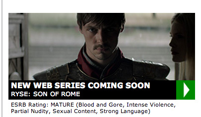 Ryse: Son of Rome'un dizisi de geliyor!