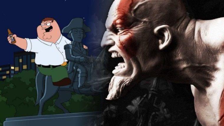 PlayStation ve God of War, Family Guy'a sponsor oluyor