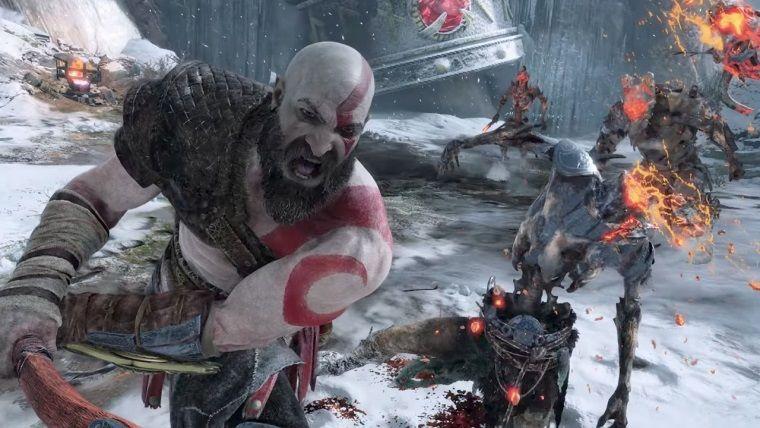 God of War için 4K olan yeni bir oynanış videosu yayınlandı