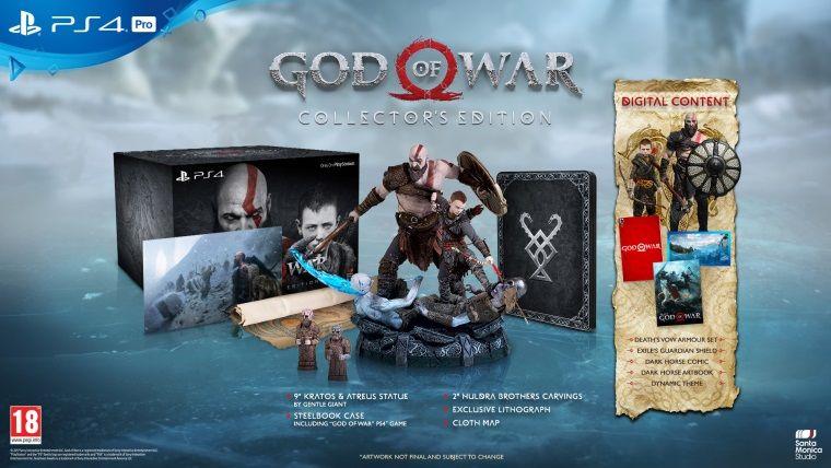 God of War koleksiyoncu sürümünün kutu açılış videosu yayınlandı