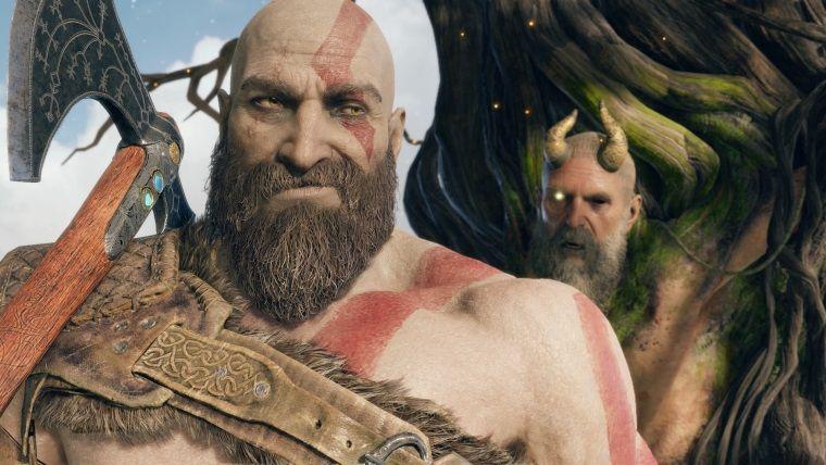 God of War'ın fotoğraf modu yeni güncelleme ile oyuna ekleniyor.