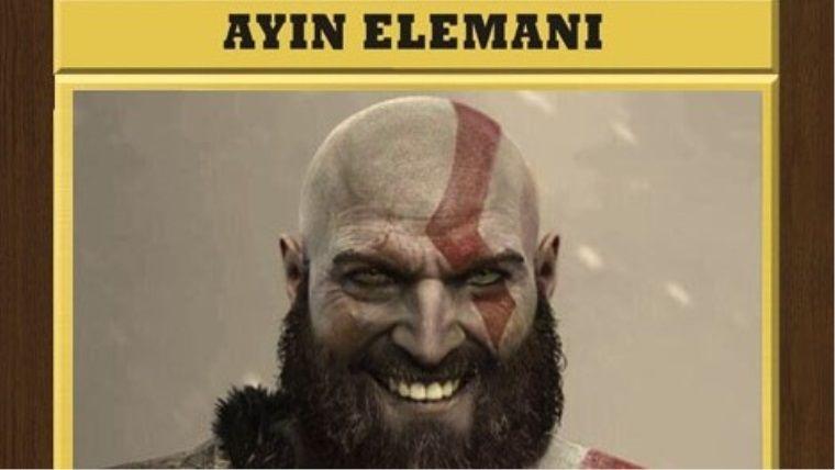 Video oyun dünyasında ayın elemanı bu sefer Kratos oldu