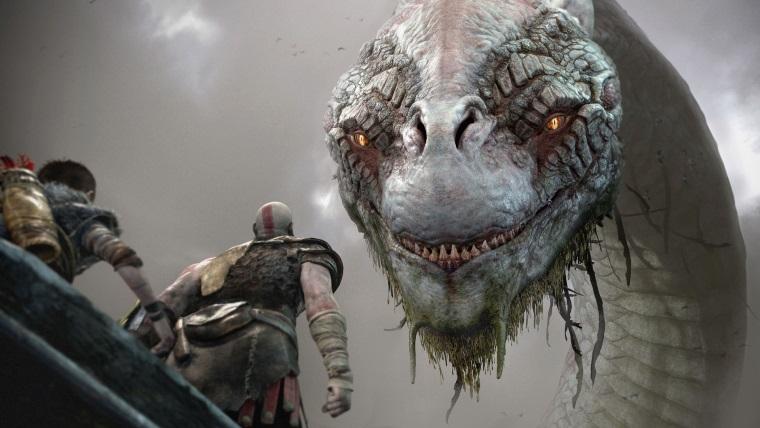 God of War'ın devasa Midgard Serpent'ı teknolojiyi zorluyor