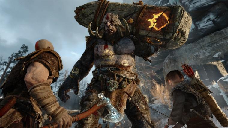 God of War için Fire Troll videosu yayınlandı