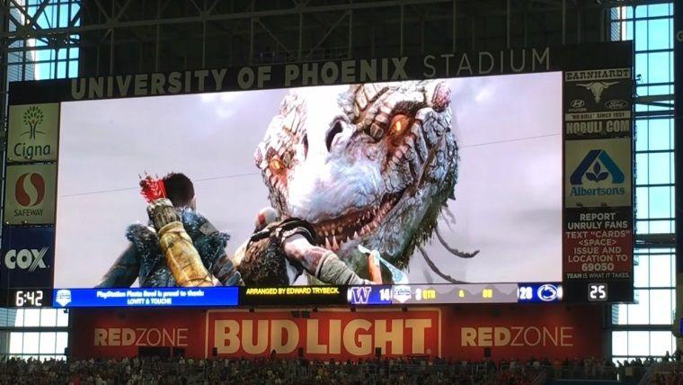 Stadyum'da God of War müziği çalınırsa