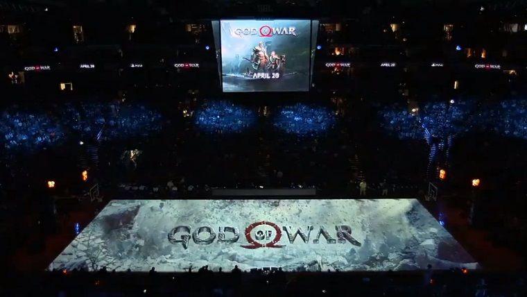 God of War'un NBA maçında sahaya yansıtılan reklamı şahane!