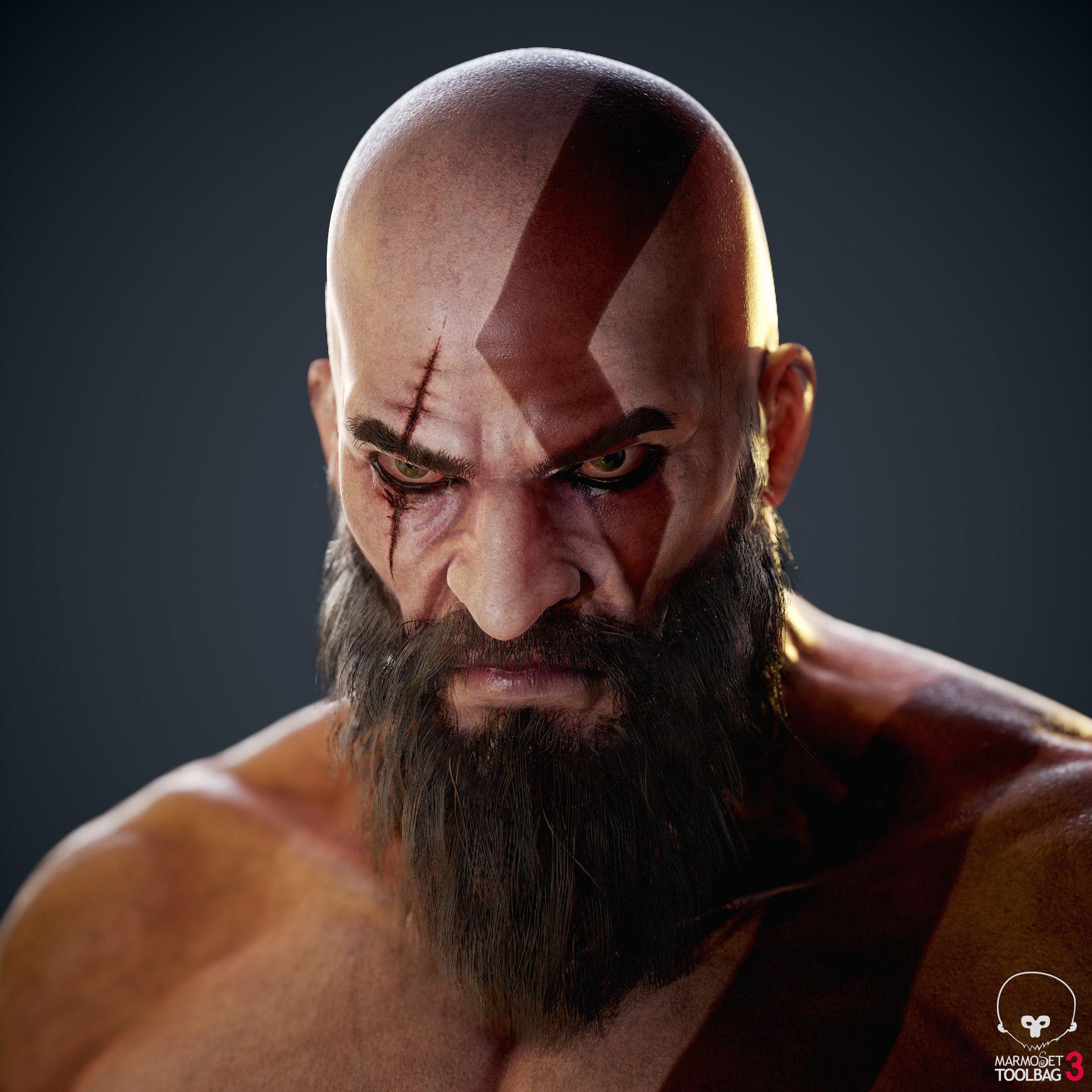 Türk çizerin yaptığı Kratos çalışması kesinlikle görülmeye değer