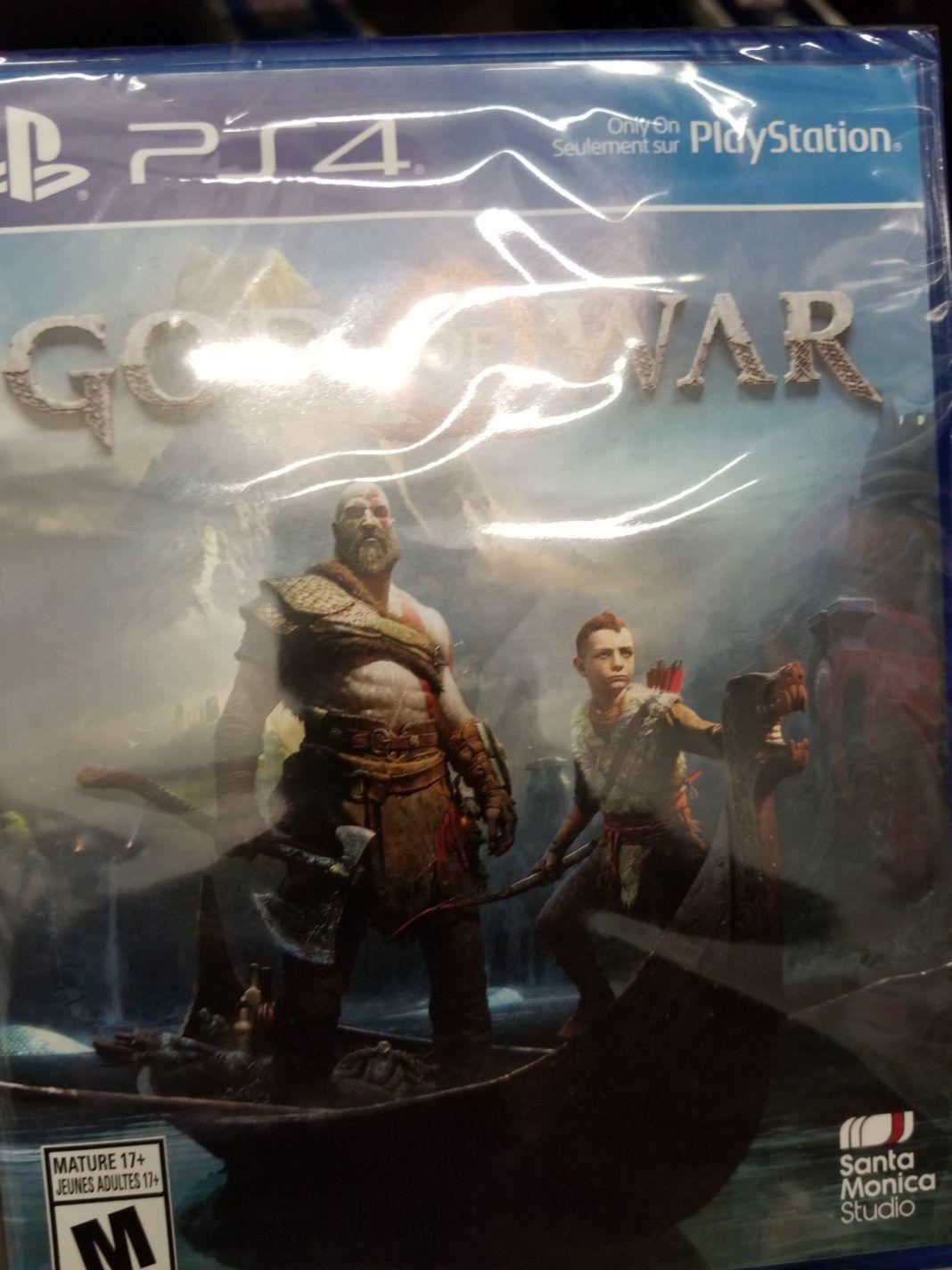Bazı meraklı oyuncular yeni God of War'u oynamaya başladı bile