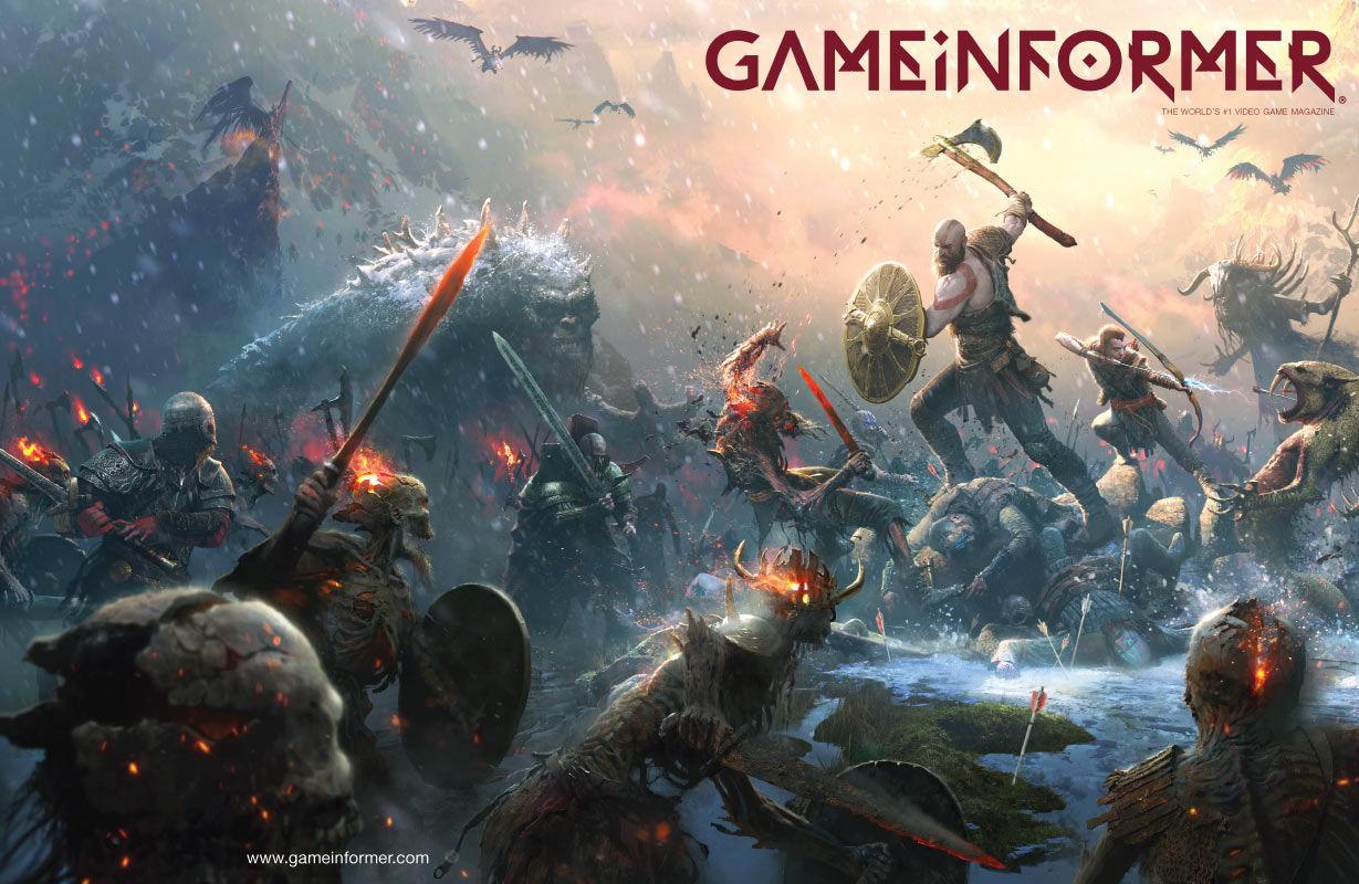 GI kapağında şahane bir God of War görseli var!