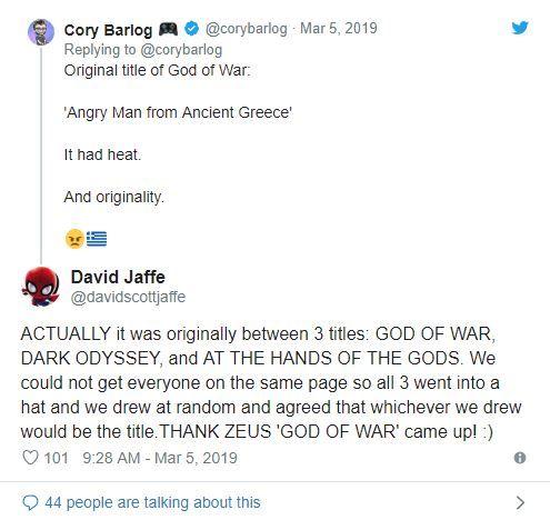God of War isminin, oldukça ilginç bir hikayesi varmış!