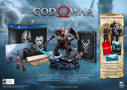God of War'un özel sürümlerinde neler ile karşılaşacağız?