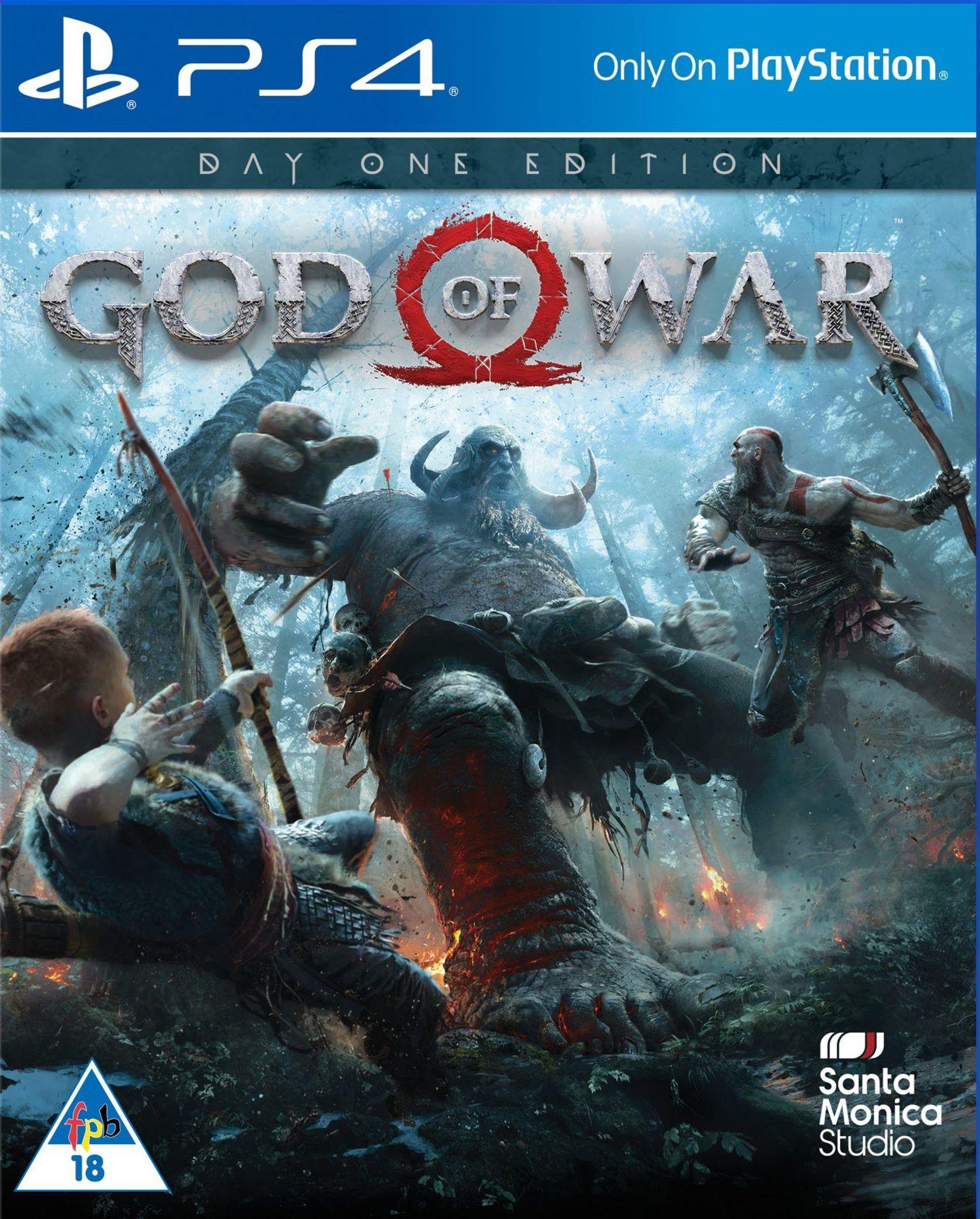 God of War'ın Day One Edition kapağı orijinalinden daha güzel