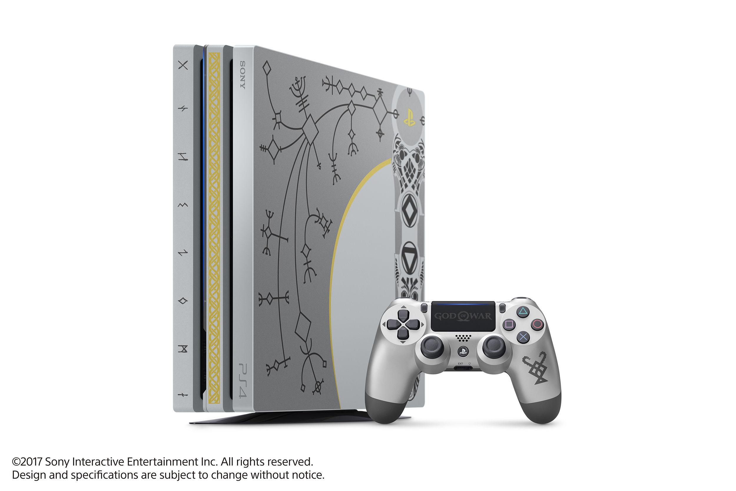 God of War'un PS4 pro özel sürümü tasarımı ile göz alıyor