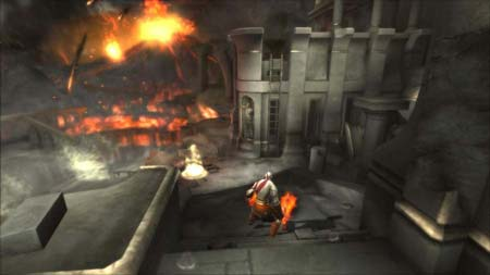 God of War Collection PS Vita yolunda!
