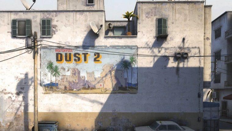 Counter Strike'ın efsane haritası olan Dust II geri döndü