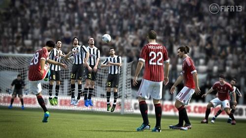 FIFA 13 kontrolü daha farklı