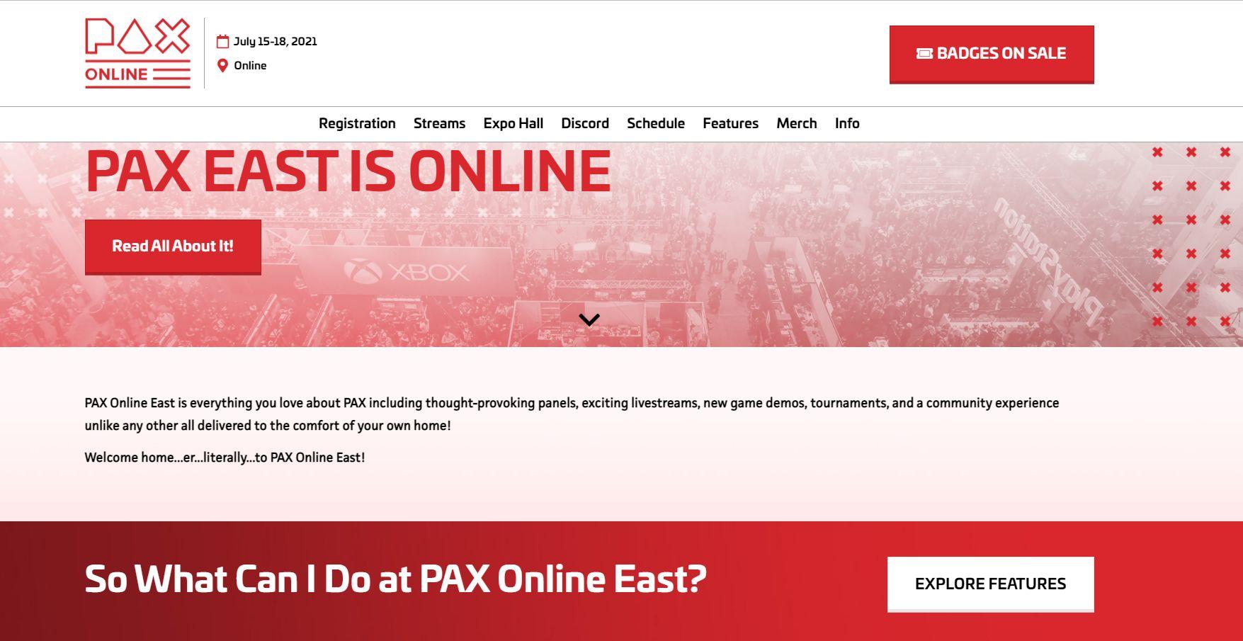 Pax West 2021 için covid