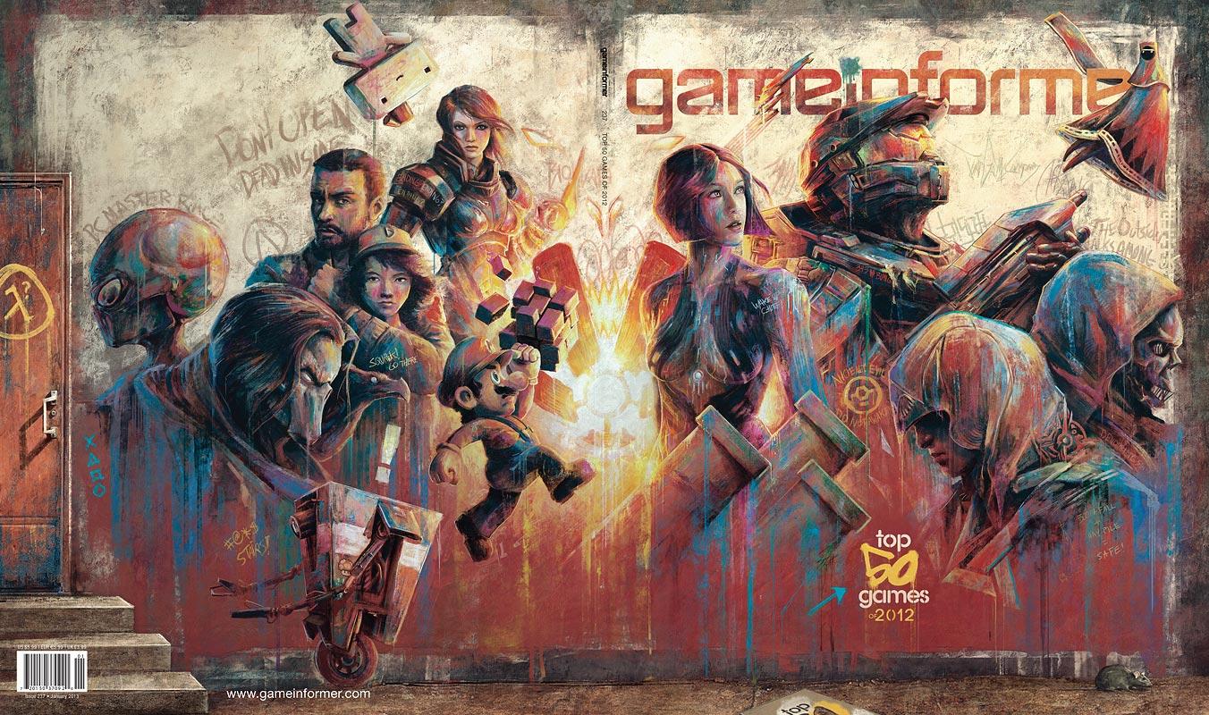 Destansı Game Informer Ocak kapağı