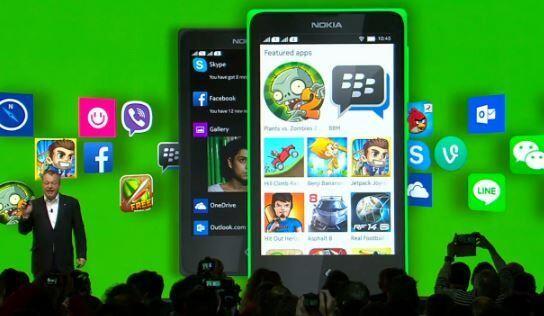 Android tabanlı Nokia X açıklandı!