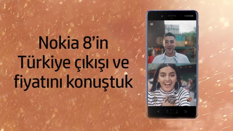 Nokia 8, Türkiye'de satışa çıkıyor