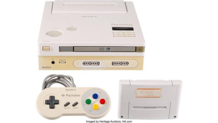 Sony'nin ilk oyun konsolu açık arttırmada