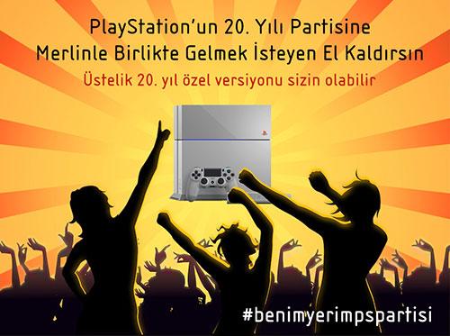PlayStation partisine bekleriz!
