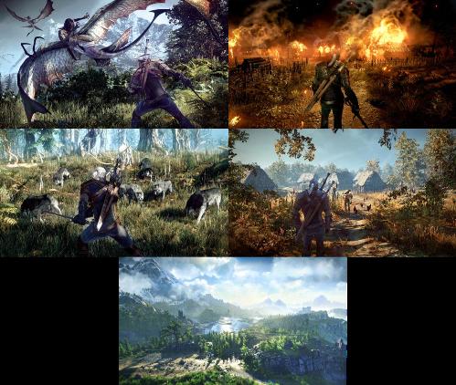 The Witcher 3'ten yeni görüntüler