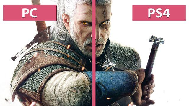 The Witcher 3'e PC vs PS4 karşılaştırma videosu!