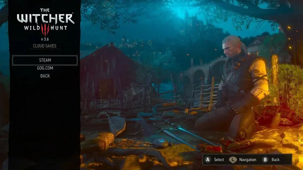 Witcher 3 ün Switch sürümü güncellendi