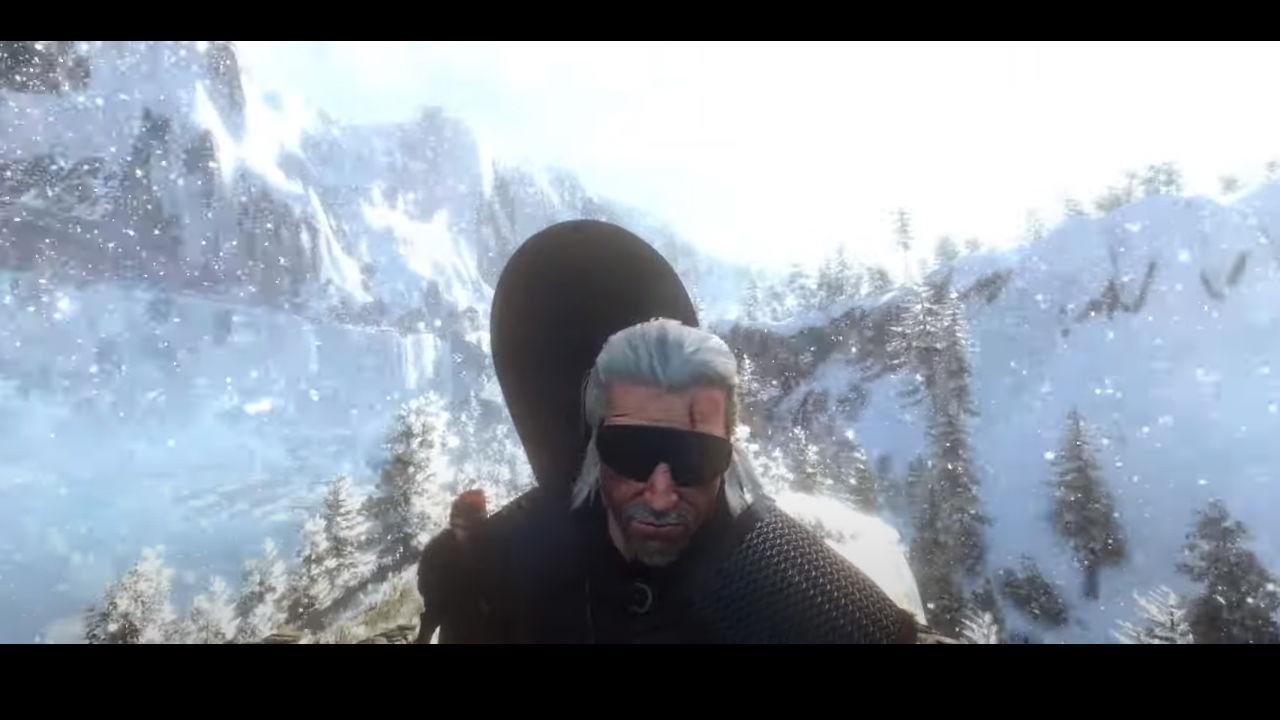Bu The Witcher 3 modu ile Geralt snowboard yapabiliyor