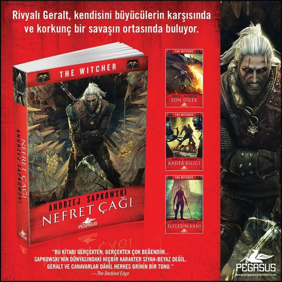 Witcher serisinin 4.kitabı Nefret Çağı, Türkçe olarak geliyor