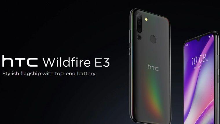 HTC Wildfire E3 tanıtıldı