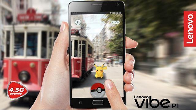 Şarjı Bitmeden En Çok Pokemon Toplayan Telefon: Lenovo VIBE P1