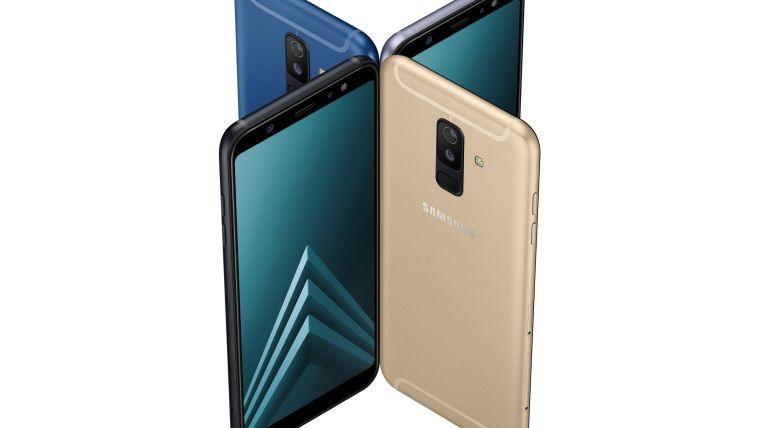 Samsung'un yeni telefonu Galaxy A6 ve A6+ şimdi Türkiye'de