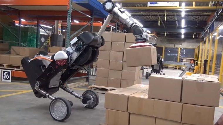 Boston Dynamics'in sevkiyat robotu görücüye çıktı
