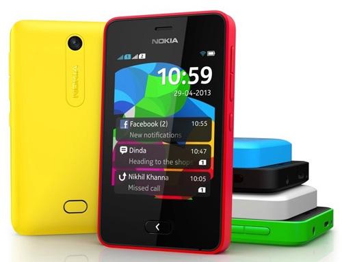 Nokia'dan 99 dolarlık akıllı telefon: Asha 501