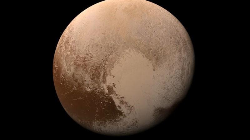 NASA, Mars'taki PAC-MAN kraterinin fotoğraflarını yayınladı