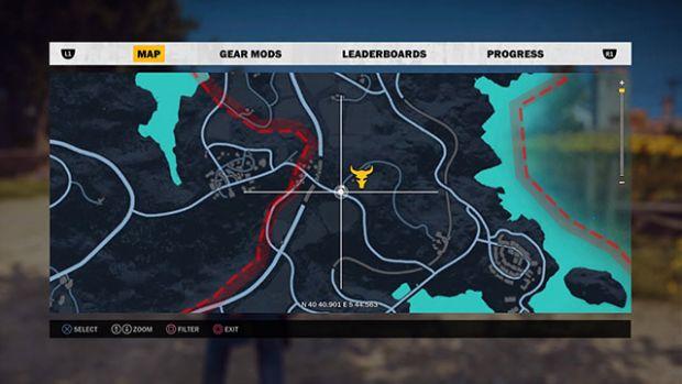 Just Cause 3 Haritası