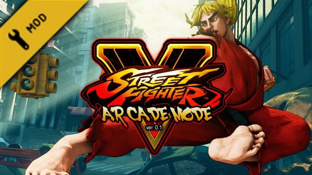 Street Fighter V'e gayriresmi Arcade modu geliyor