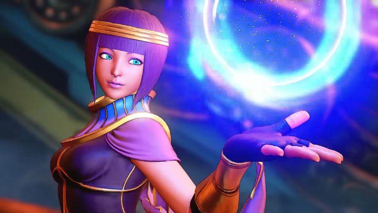 Street Fighter V'in yeni karakteri Menat duyuruldu!