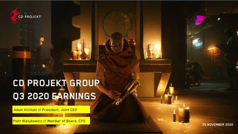 CD Projekt Group üçüncü çeyrek gelirlerini açıkladı