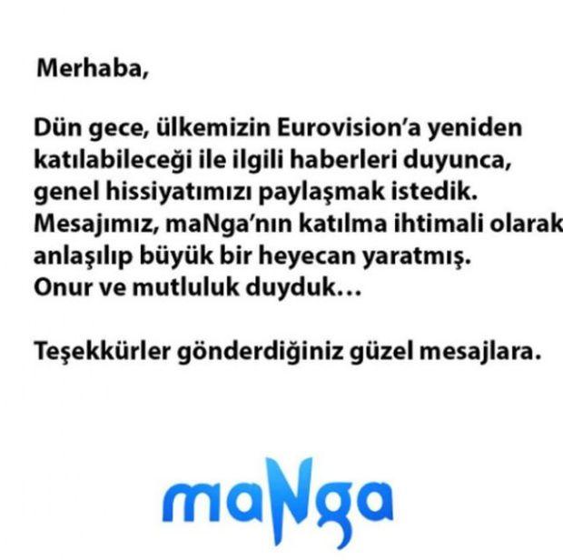 Türkiye yeniden Eurovision'a katılabilir