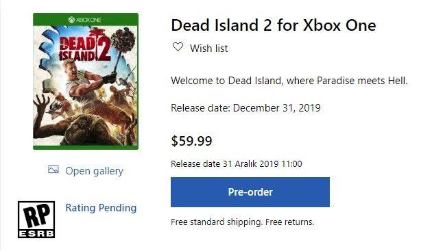 Dead Island 2 ön sipariş olarak satışa çıktı
